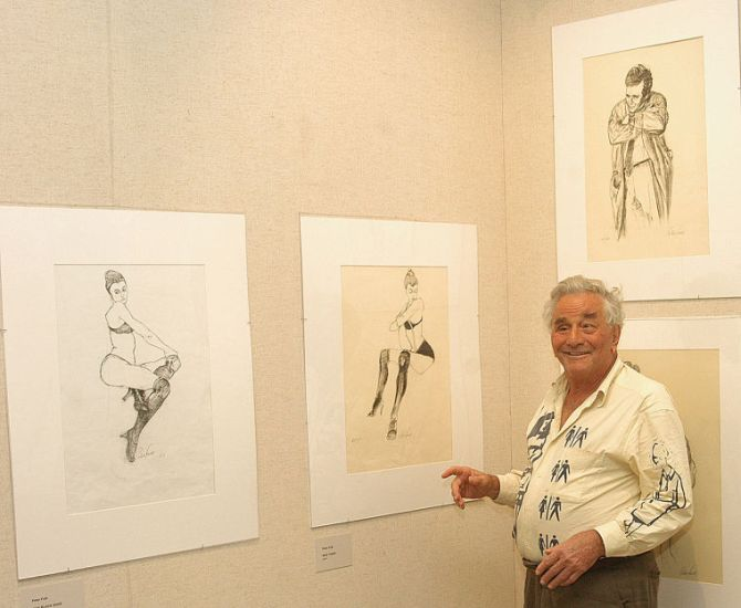 Peter Falk at the Butler institute of American Art, Youngstown 2006