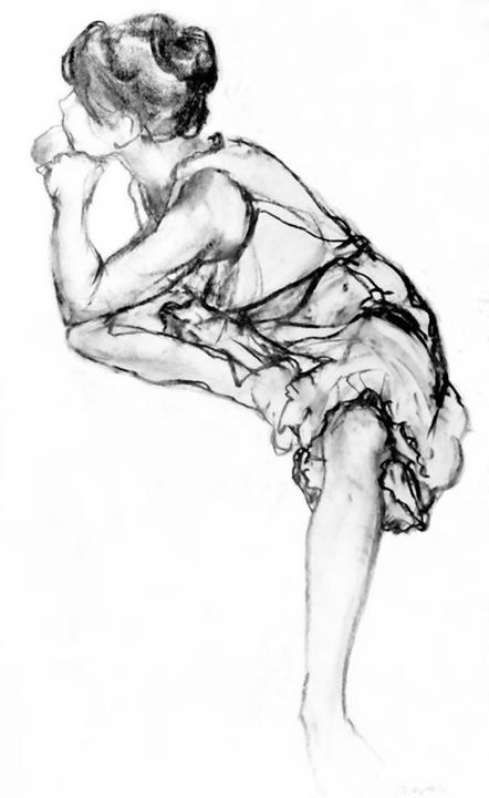 Peter Falk Young Dancer