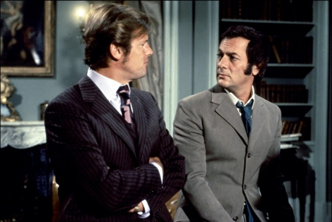 with Roger Moore in an Episode of series The Persuaders