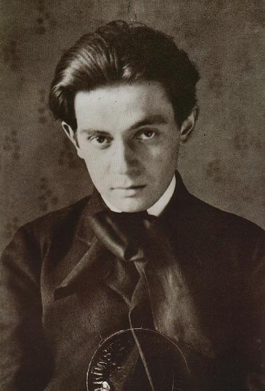 Egon Schiele ca. 1906 at age 16