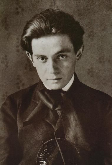 Egon Schiele ca. 1906 at age 16