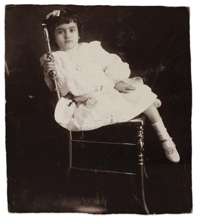 Frida Kahlo at age 5 in 1912