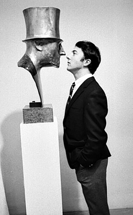 Dustin Hoffman at MoMA, NYC, 1968. Photo by Robert Goldberg.jpg