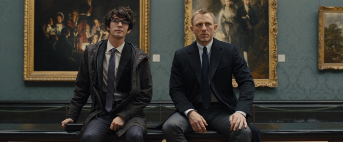 In the new James Bond film Skyfall, there's a scene at the London National Gallery where Bond meets his much younger counterpart Q for the first time