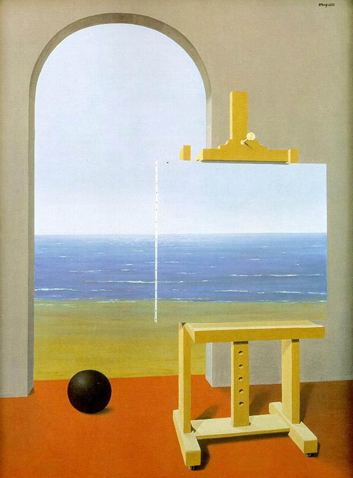 The human condition - Rene Magritte