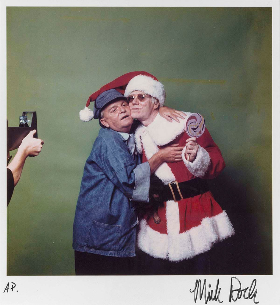 Truman Capote and Andy Warhol Photo by Mick Rock, 1979