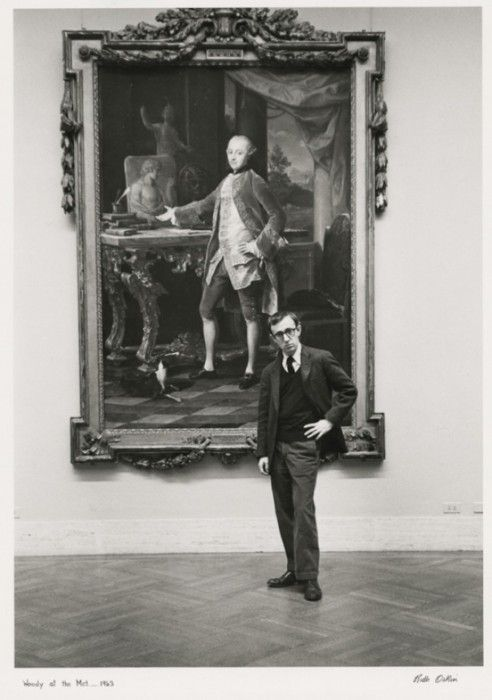 woody allen in MET