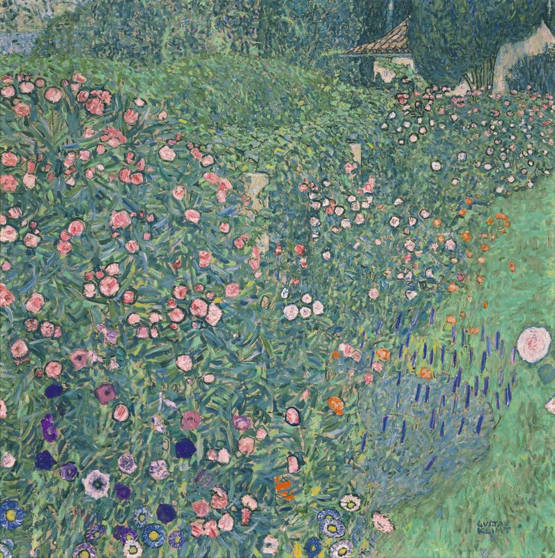 Gusatv Klimt, Italian Garden Landscape, 1913 © Kunsthaus Zug, Stiftung Sammlung Kamm