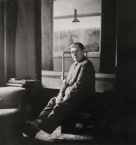 03. René Magritte, Self-Portrait in his studio, c. 1933