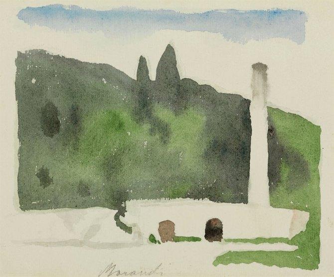 08 Giorgio Morandi Paesaggio, 1957