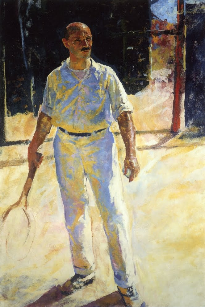 Charles Webster Hawthorne, The Tennis Player, 1924