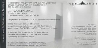 El Kazovszkij meghívó 2002