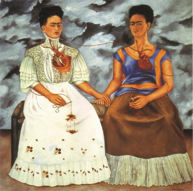 fRIDA kAHLO the-two-fridas-1939