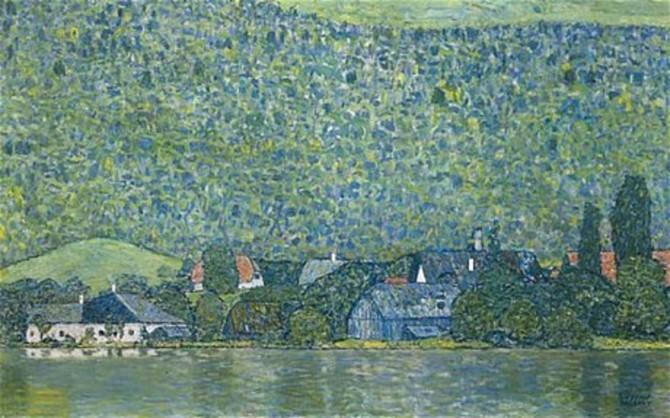 Gustav-Klimt-1915-painting-Litzlberg-am-Attersee