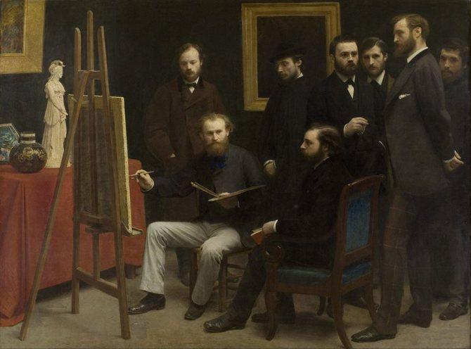 Henri Fantin-Latour Batignolles, 1870
