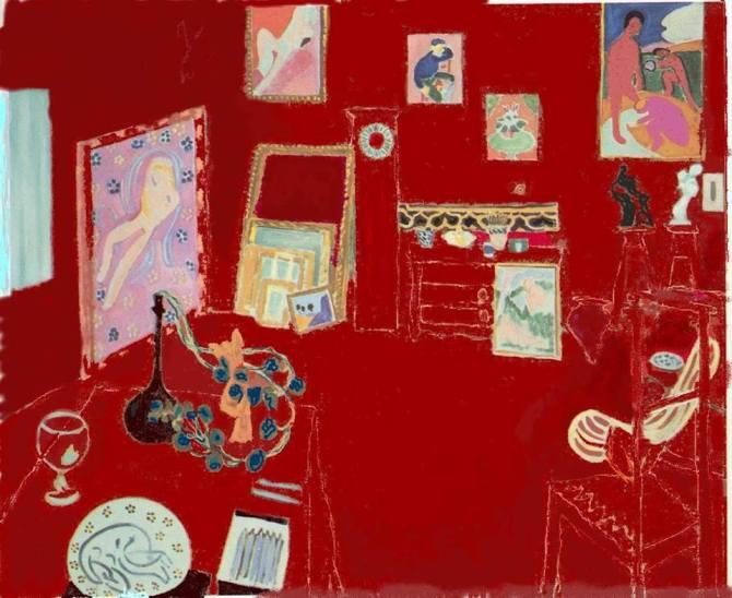 Henri Matisse - L'Atelier rouge - 1911