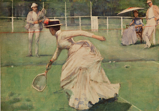 John Lavery, A Rally, 1885, Kelvington Art Gallery and Museum