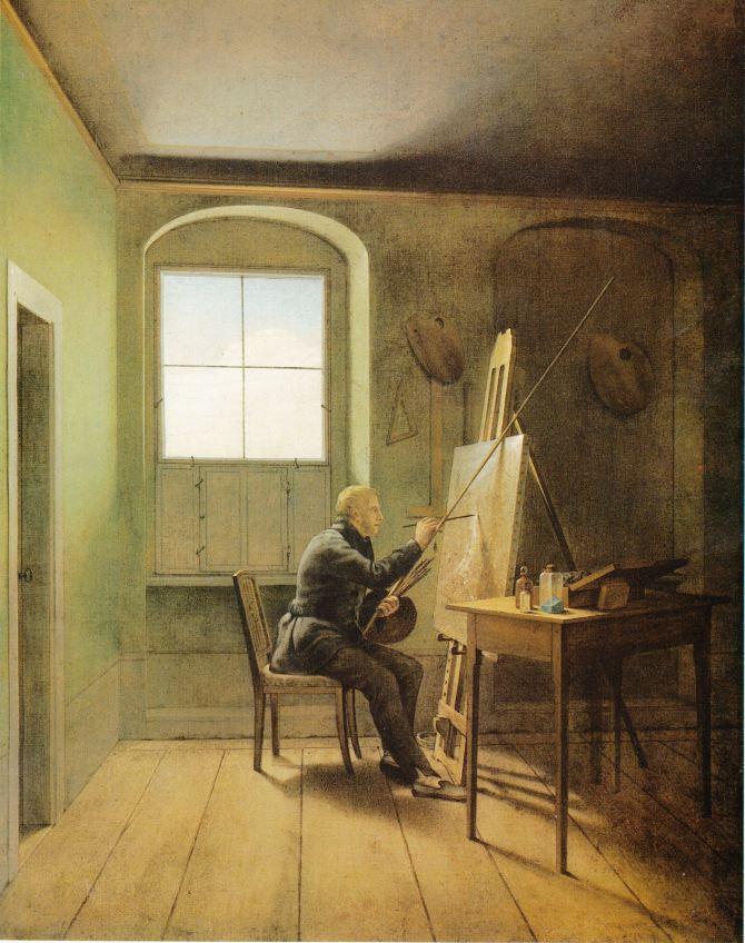 Kersting_-_Caspar_David_Friedrich_in_seinem_Atelier_1811