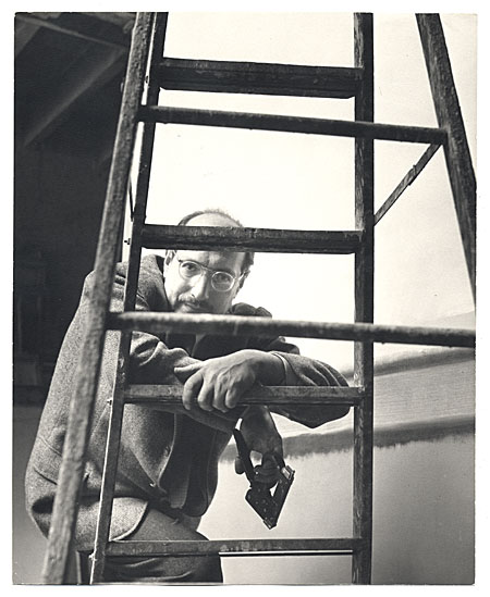 Mark Rothko in his studio, 1952 Photograph by Bell Reynal