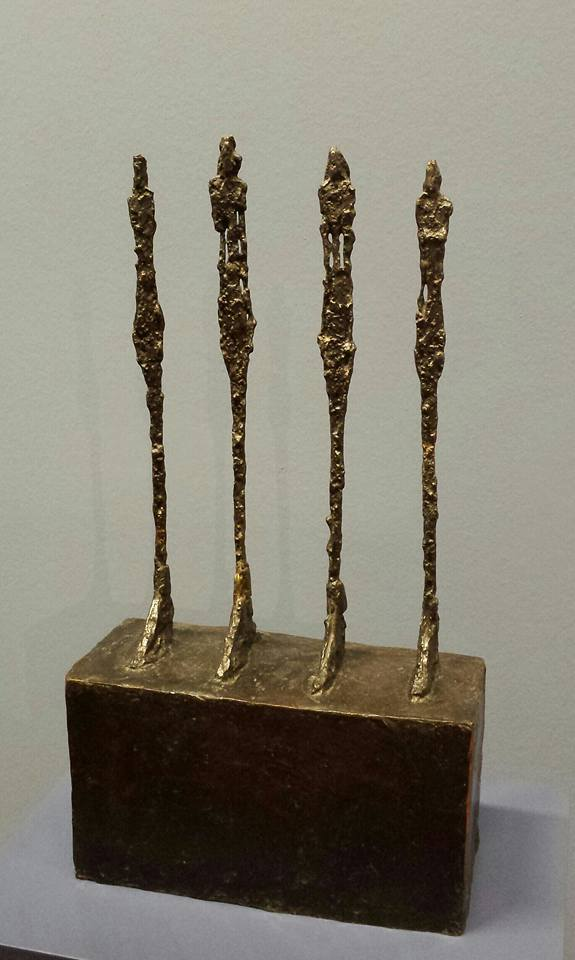 Alberto Giacometti (1901-1966) Four Women on a Plinth 1950 Albertina Museum Vienna