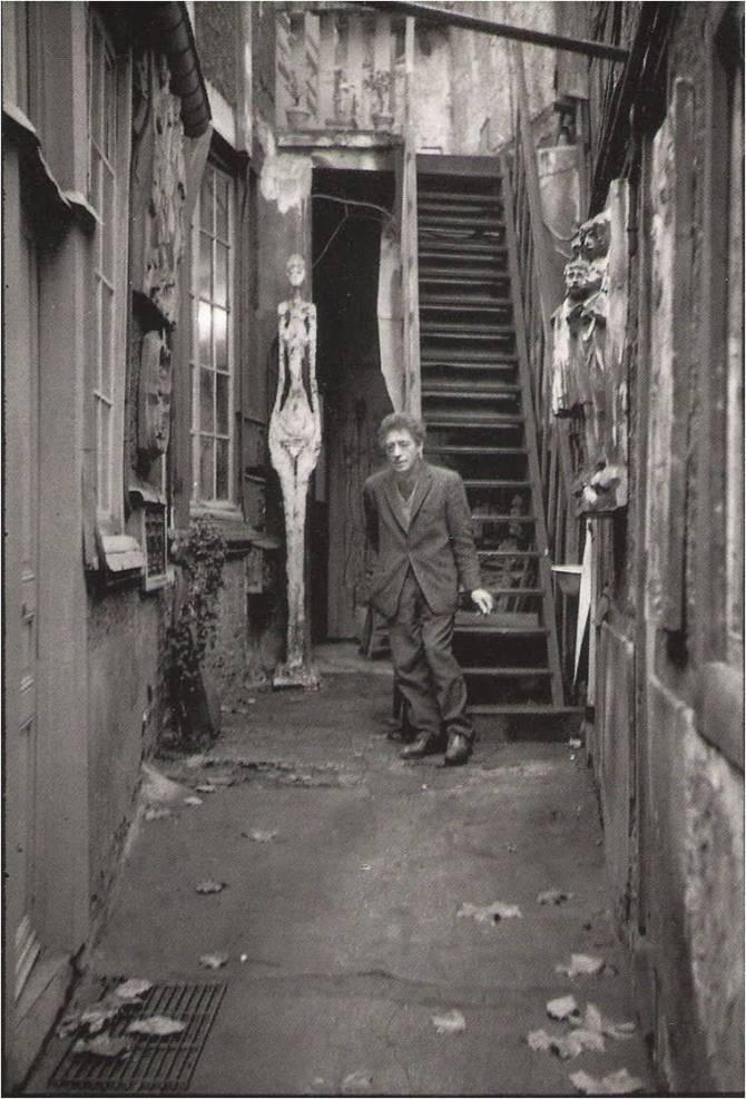 Alberto Giacometti. 1961. Son atelier, rue Hippolyte Maindron, Paris XIV