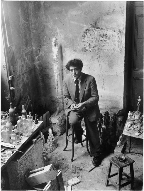 Alberto Giacometti,1954 Denise Colomb