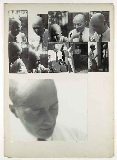 El Lissitzky at the Bauhaus