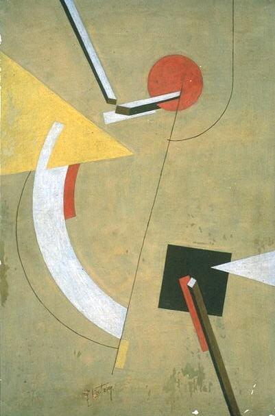 El Lissitzky, Proun, 1923