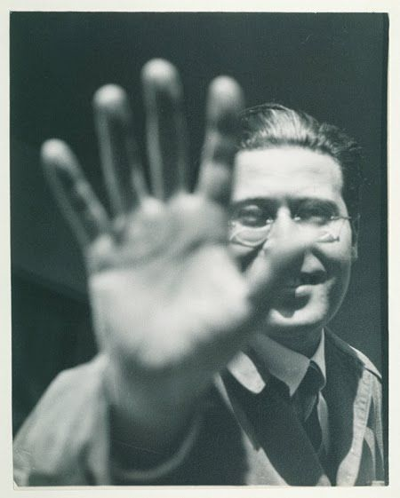 Moholy-Nagy Laszlo 1925-26 Portrait Photo by Lucia