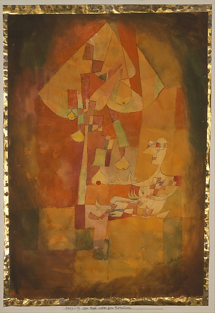 Paul Klee The Man Under the Pear Tree 1921