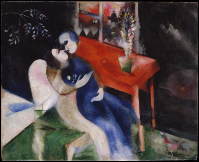 Chagall The Lovers