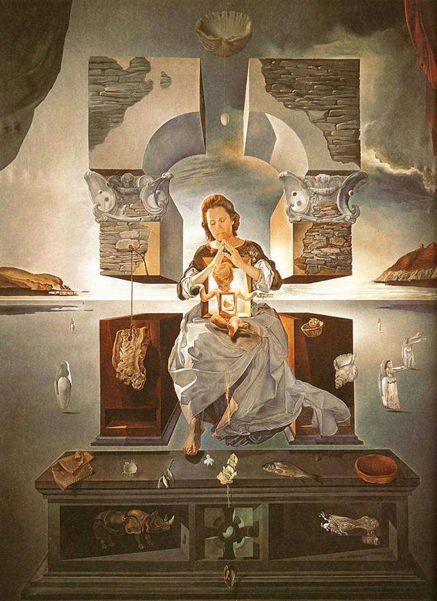 dali-madonna-of-port-lligat-1950