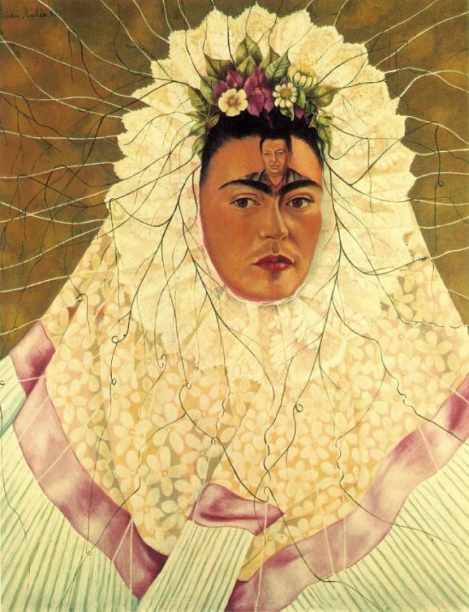 Frida Kahlo Tehuana (Diego on my Mind) 1943