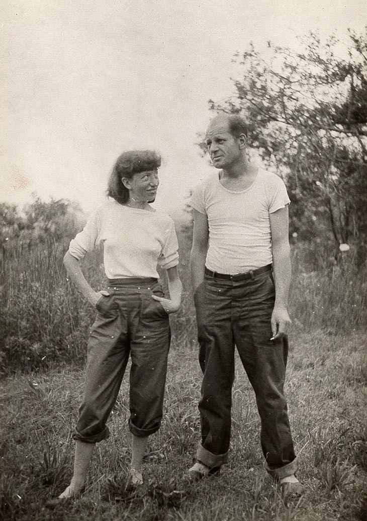 Jackson Pollock and His Wife Lee Krasner