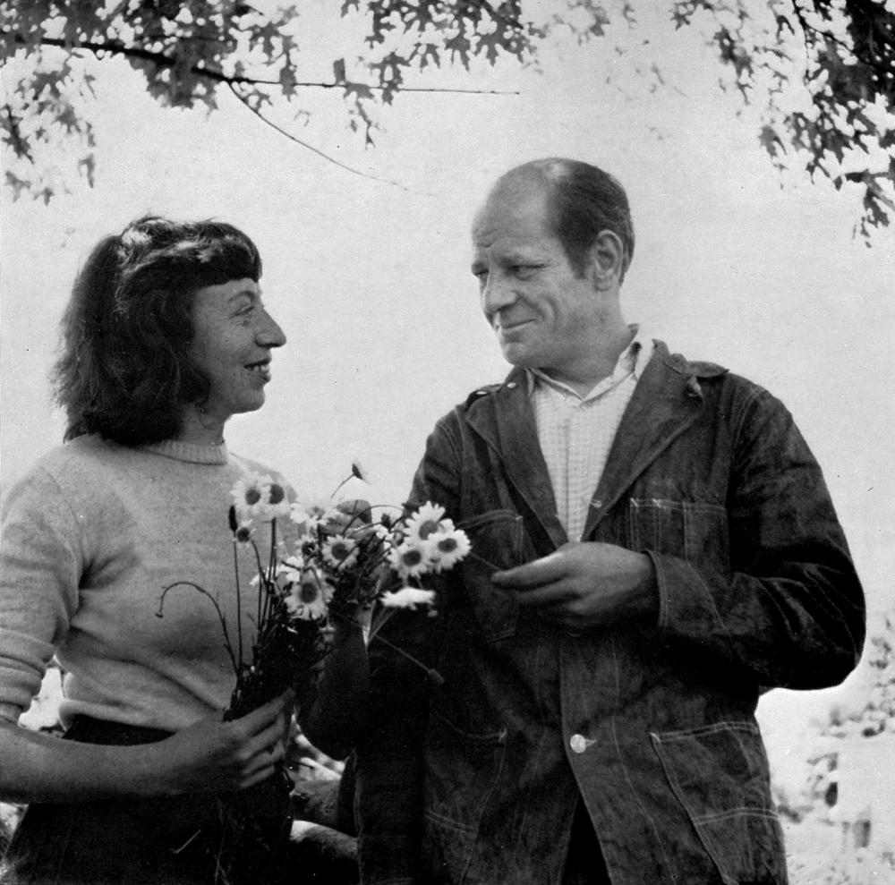 Jackson Pollock and Lee Krasner, 1949 - Wilfrid Zogbaum, photographer