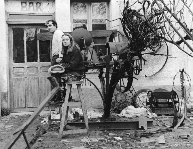 Niki de Saint-Phalle and Jean Tinguely 1964
