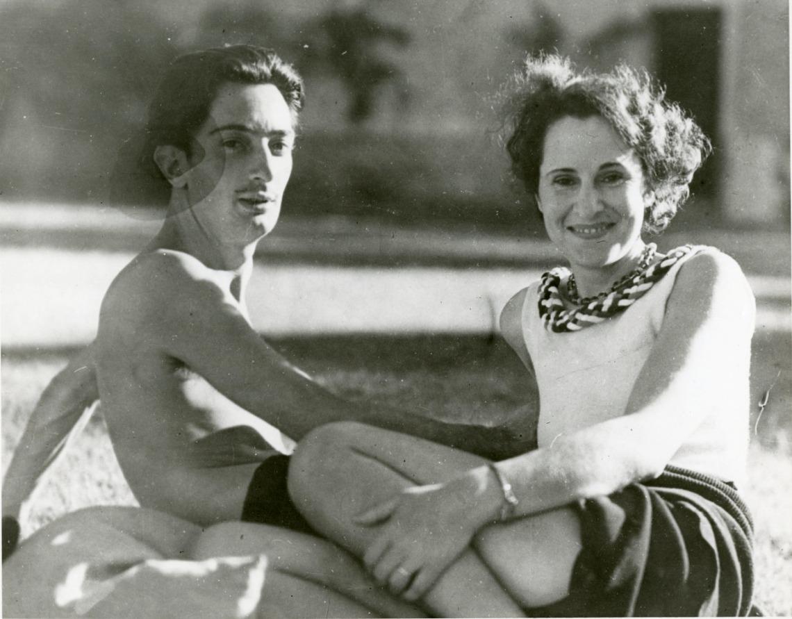Salvador Dalí and Gala 1930