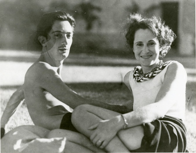 Salvador Dalí and Gala 1930