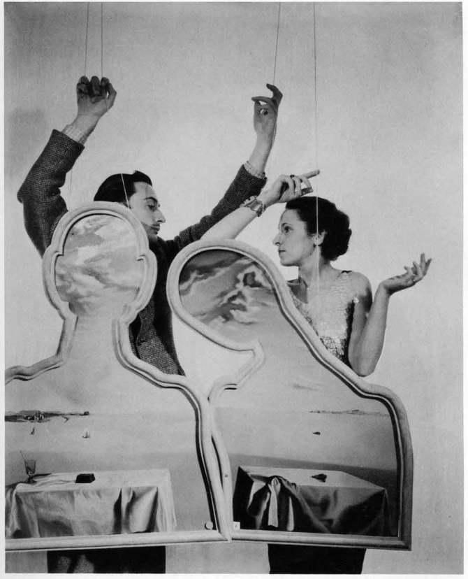 Salvador Dalí and Gala 1934