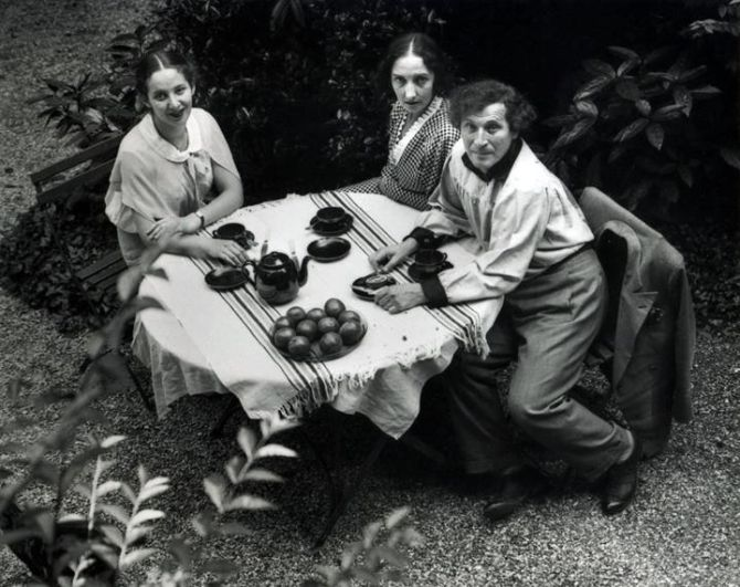 Chagall and Family 1933