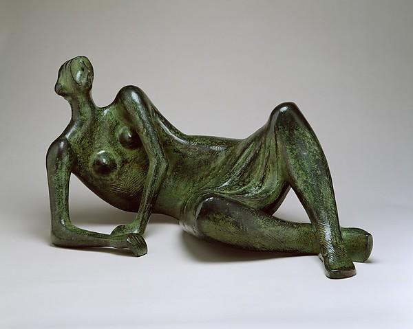 Henry Moore Reciclyng figure 1954-55