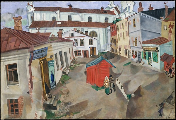 Marc Chagall The Marketplace, Vitebsk 1917