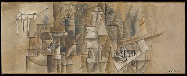 Picasso MET 1911