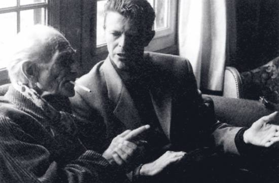 Balthus and David Bowie, 1994