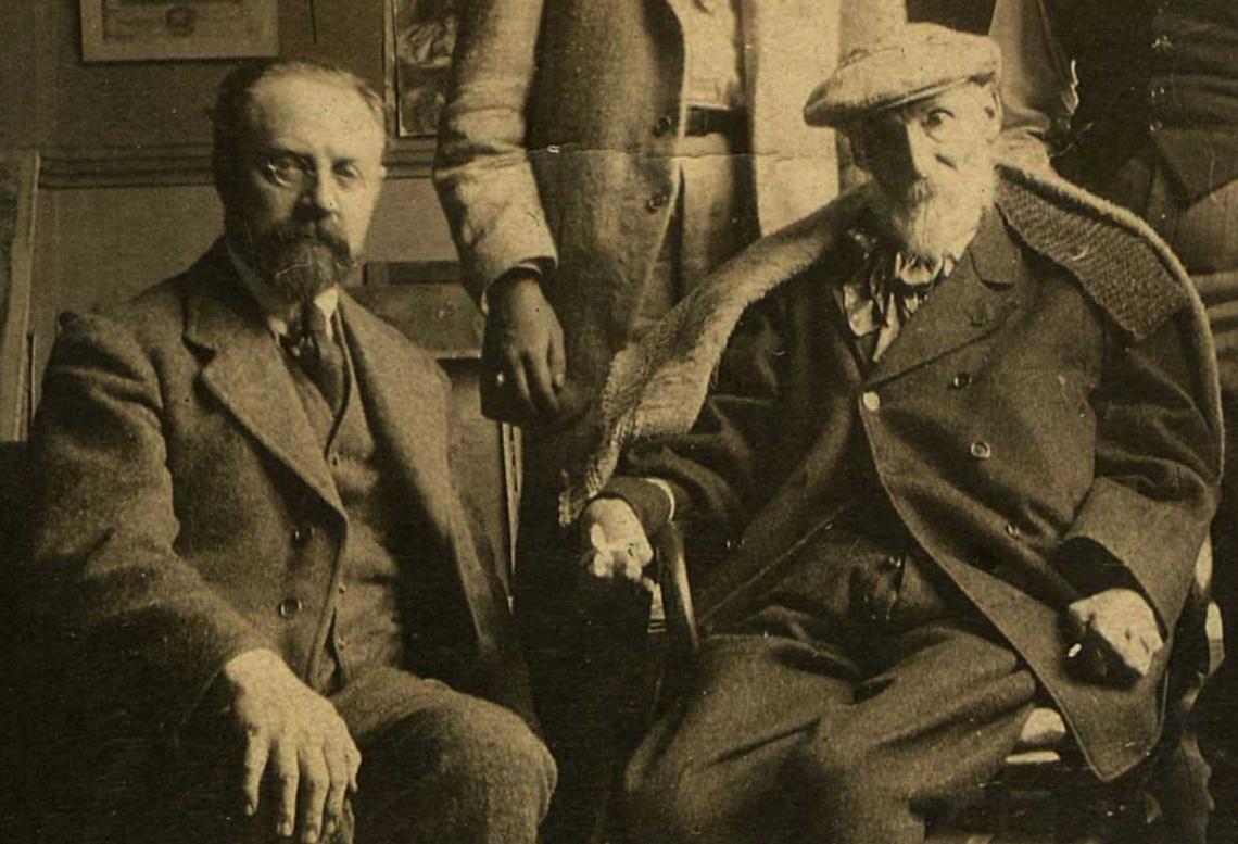 Henri Matisse & Pierre-Auguste Renoir, 1917