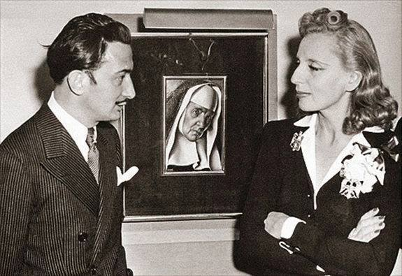 Salvador Dalí & Tamara Lempicka 1941