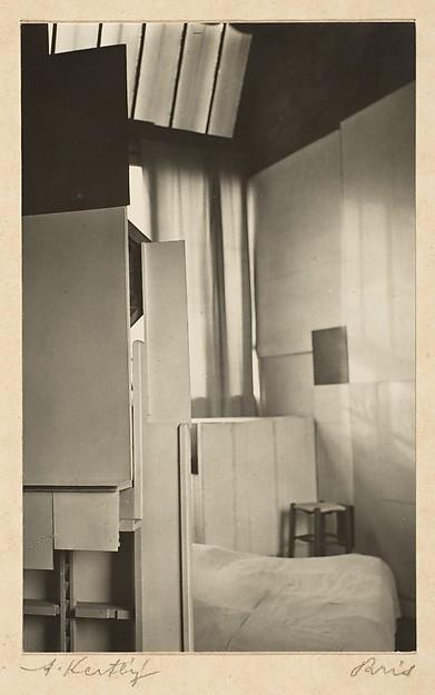 André Kertész Mondrian's Studio, Paris