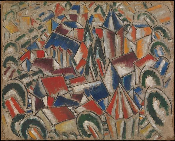 Ferdinand Léger The Village 1915