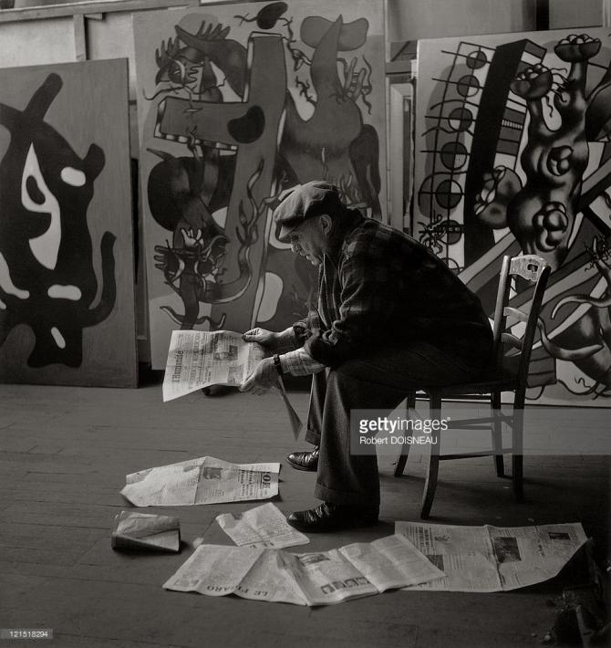 Fernand Léger, Montparnasse, 1946