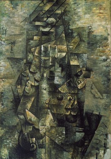 Georges Braque (French, 1882–1963) Man with a Guitar 1911-12 MOMA